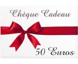 CHEQUE 50 €